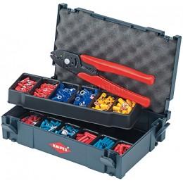 Набор кабельных наконечников с инструментом для опрессовки, для кабельных наконечников KNIPEX KN-979001