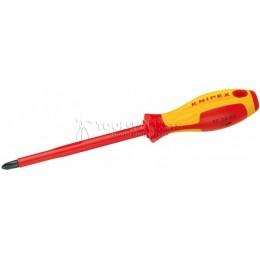 Отвертка для винтов профилей Phillips® PH 4 VDE KNIPEX KN-982404