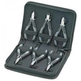 Набор инструментов для электроники 6 предметов KNIPEX KN-002017
