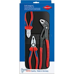 Заказать Набор клещей 3 предмета KNIPEX KN-002009V01 отпроизводителя KNIPEX