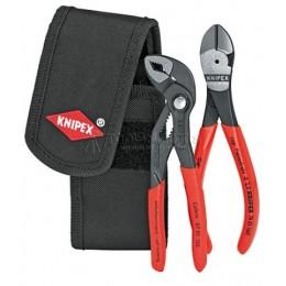 Заказать Набор с клещами в поясной сумке 2 предмета KNIPEX KN-002072V02 отпроизводителя KNIPEX