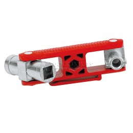 Заказать Универсальный ключ для распространенных шкафов и систем запирания 97 мм KNIPEX KN-001106V02 отпроизводителя KNIPEX