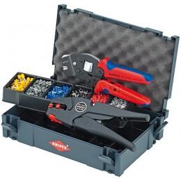Набор кабельных наконечников с инструментом для опрессовки KNIPEX KN-979012