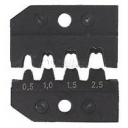 Заказать Плашка опрессовочная KNIPEX KN-974905 отпроизводителя KNIPEX