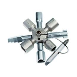 Заказать Ключ для электрошкафов TwinKey® 135 мм KNIPEX KN-001101 отпроизводителя KNIPEX