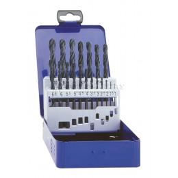 Заказать Набор сверл спиральных по металлу HSS-R 1-10мм 19 предметов EXACT GQ-32001 отпроизводителя EXACT