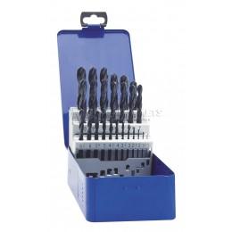 Заказать Набор сверл спиральных HSS-R по металлу 1- 13 x 0.5 мм 25 предметов EXACT GQ-32002 отпроизводителя EXACT
