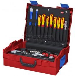 Набор инструментов L-BOXX® Сантехника 52 предмета KNIPEX KN-002119LBS