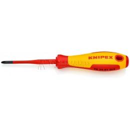 Отвёртка тонкая PlusMinus Phillips® 212 mm PH KNIPEX KN-982402SLS