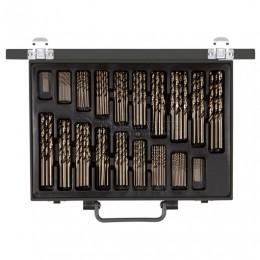 Набор буровых свёрл в металлическом футляре 170 шт  закрученные  9700.170 CAROLUS 2250764