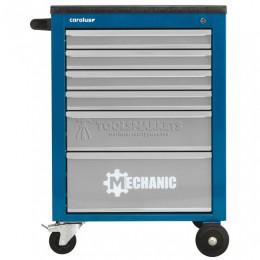 Заказать Рабочая тележка MECHANIC с 6 выдвижными ящиками синяя/светло-серая  2046.20 CAROLUS 2836130 отпроизводителя CAROLUS