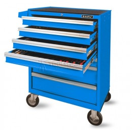 Заказать Тележка инструментальная без инструмента синяя 7 ящиков AmPro T47073-RAL5015 отпроизводителя AmPro