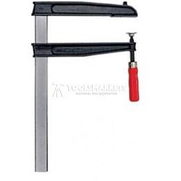 Струбцина для глубокого зажима TGNT с надежной деревянной ручкой BESSEY BE-TGN80T25