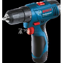 Заказать Аккумуляторная дрель-шуруповерт GSR 1080-2-LI Professional Bosch 0.601.9E2.020 отпроизводителя Bosch