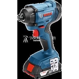 Заказать Аккумуляторный ударный гайковёрт Li-Ion 18 В GDR 180-LI Professional Bosch 06019G5120 отпроизводителя Bosch