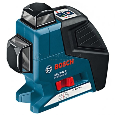 Линейный лазерный нивелир Bosch GLL 2-80 P (0 601 063 205)