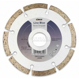 Заказать Алмазные отрезные диски CIMCO, синяя линия 115 мм CIMCO 20 8700 отпроизводителя CIMCO