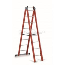 Лестница-стремянка из 2-х частей 1000В CIMCO 14 6108