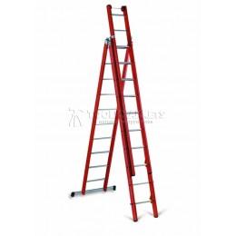 Лестница-стремянка из 3-х частей  1000В CIMCO 14 6208