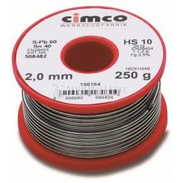 Заказать Оловянный радиоприпой CIMCO 15 0104 отпроизводителя CIMCO