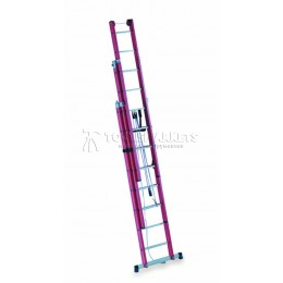 Раздвижная лестница из 3-х частей 1000В CIMCO 14 6412