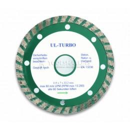 Сплошной алмазный отрезной диск 125 мм CIMCO 20 7972