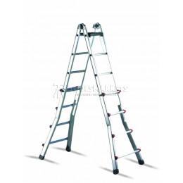 Лестница-стремянка раздвижная от 0.97 м до 3 м  CIMCO 14 6706