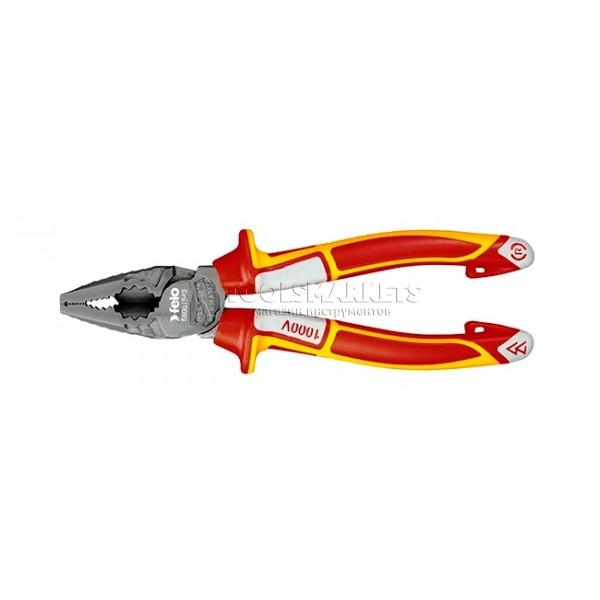 Диэлектрические комбинированные плоскокубцы 180 мм FELO 58001840