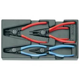 Заказать Ложемент с набором инструмента 5 предметов 1500 ES-8000 GEDORE 1402196 отпроизводителя GEDORE