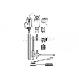 Труборез малый MINI-QUICK 4-16 мм 231000 GEDORE 4504560