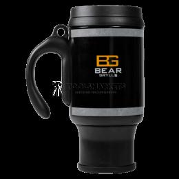 Заказать Кружка с системой френч-пресс BG The Ultimate Coffee Mug, чёрная BG GERBER B1402 BK отпроизводителя GERBER