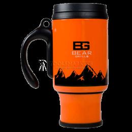 Заказать Кружка с системой френч-пресс BG The Ultimate Coffee Mug, оранжевая BG GERBER B1402 OR отпроизводителя GERBER