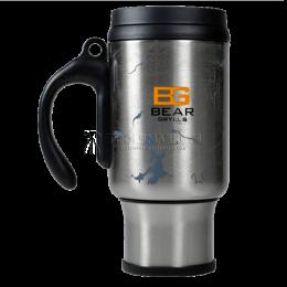 Заказать Кружка с системой френч-пресс BG The Ultimate Coffee Mug, стальная BG GERBER B1402 SL отпроизводителя GERBER