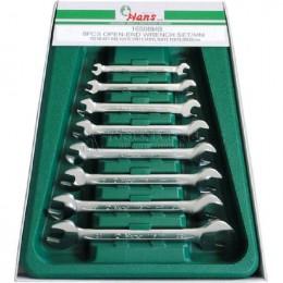 Заказать Набор рожковых ключей 6-22 мм 8 предметов HANS 16508M отпроизводителя HANS