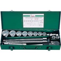 """Набор инструментов на 3/4"""", 15 предметов HANS 6615M"""