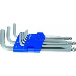 Заказать Набор Г-образных ключей с шариковой головкой 9 предметов HP 5081343-9 HEYCO HE-50813438280 отпроизводителя HEYCO