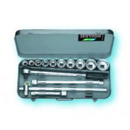 Комплект торцовых ключей 101-0-M 14 предметов HEYCO HE-00101000080