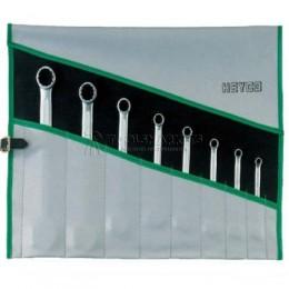 Набор комбинированных гаечных ключей R 400-8-M 8 предметов HEYCO HE-00400724082