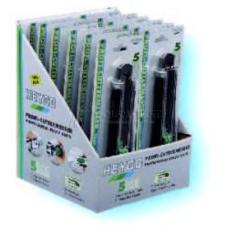Стенд с ножами со сменными лезвиями № SB 1664-12 12 предметов HEYCO HE-01664001200