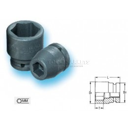 """Заказать Торцевая головка IMPACT 21 мм 1/2"""" серии 6300 HEYCO HE-06300002136 отпроизводителя HEYCO"""