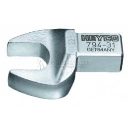 Заказать Насадка рожковая для прямоугольного привода 24 мм, 14х18 мм HEYCO HE-00794312480 отпроизводителя HEYCO