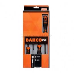 Набор отверток BahcoFit шлиц и Phillips 4 предмета Bahco B219.004