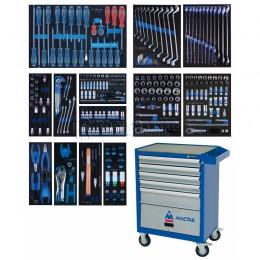 Заказать Набор инструментов в синей тележке, 286 предметов KING TONY 934-010AMB отпроизводителя KING TONY
