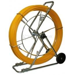 Заказать УЗК на тележке Pipe Eel стеклопруток, диаметр 9 мм длина 120 м KATIMEX KM-103012 отпроизводителя KATIMEX
