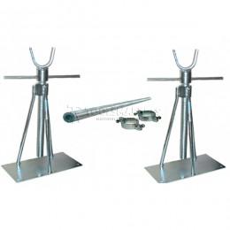 Заказать Katimex 107015KIT-комплект для подъёма кабельных барабанов 100 – 1600мм, с осью 1500мм/3000кг KATIMEX KM-107015KIT-1500 отпроизводителя KATIMEX