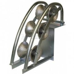 Угловой вертикальный кабельный ролик для кабеля max Ø120мм (700×380×210мм) KATIMEX KM-105002
