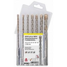 Заказать Набор буров SDS-plus TURBOKEIL 5.0-6.0-6.0-8.0-8.0-10.0-12.0х160 мм 7 предметов KEIL 1253370512 отпроизводителя KEIL