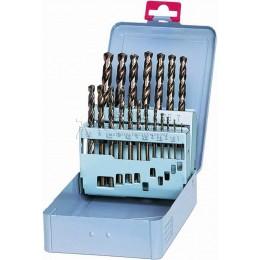 Набор сверл по металлу HSS DIN 338 1.0-13.0 мм, 25 предметов KEIL 300500113