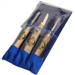 Заказать Набор инструментов для линолиума 3 предмета 3450 PT KIRSCHEN KR-3450000 отпроизводителя KIRSCHEN