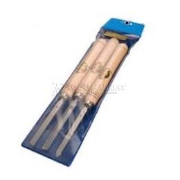 Набор коротких токарных резцов 3 предмета  KIRSCHEN KR-1635000